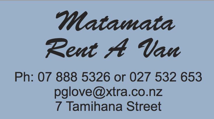 Matamata Rent A Van